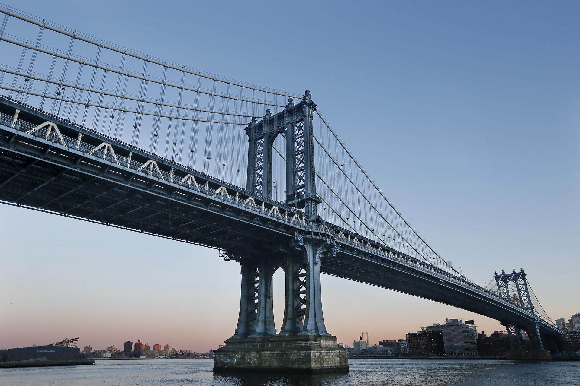 Manhattan Bridge East River New York City