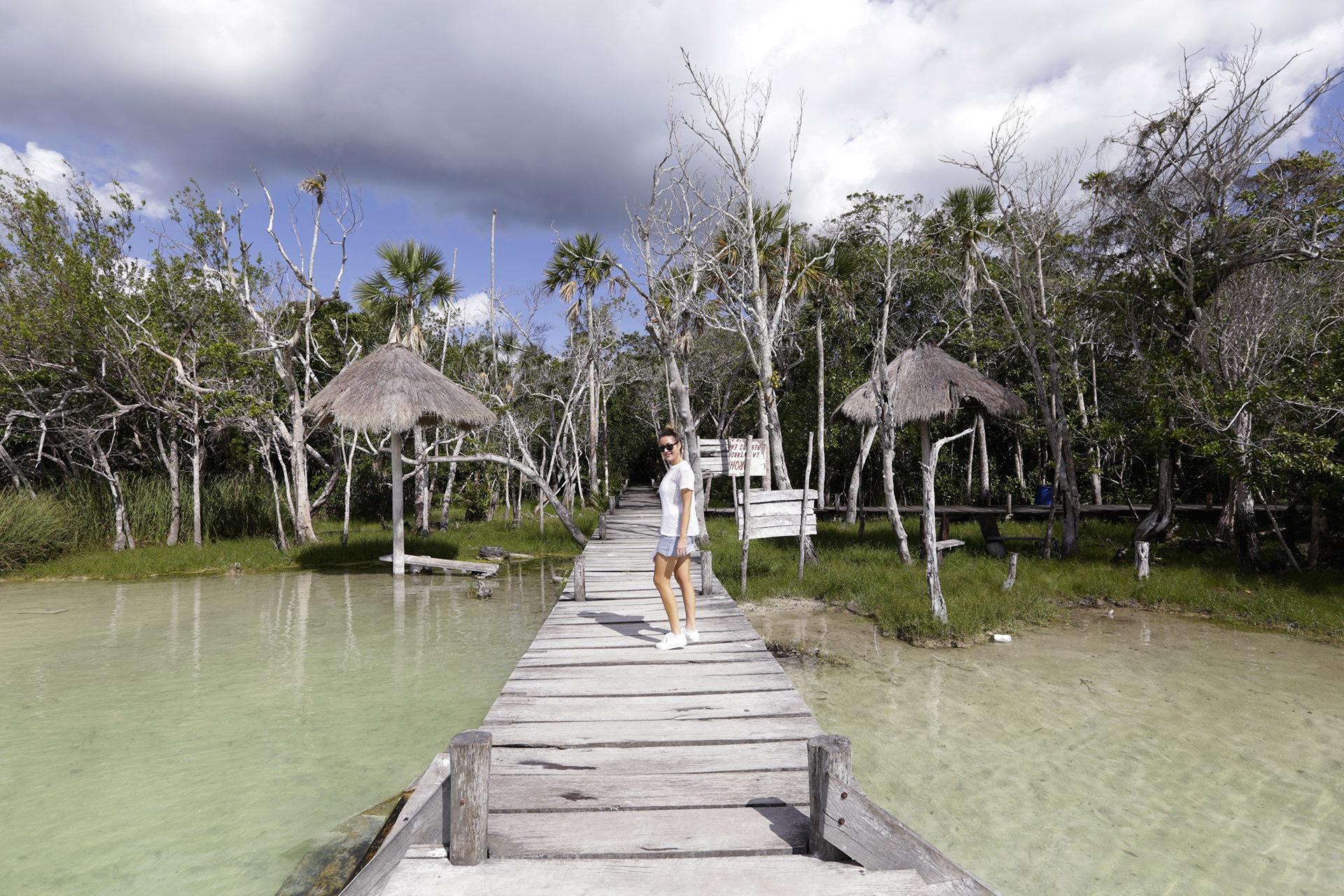 Kaan Luum Lagoon, Tulum Mexico