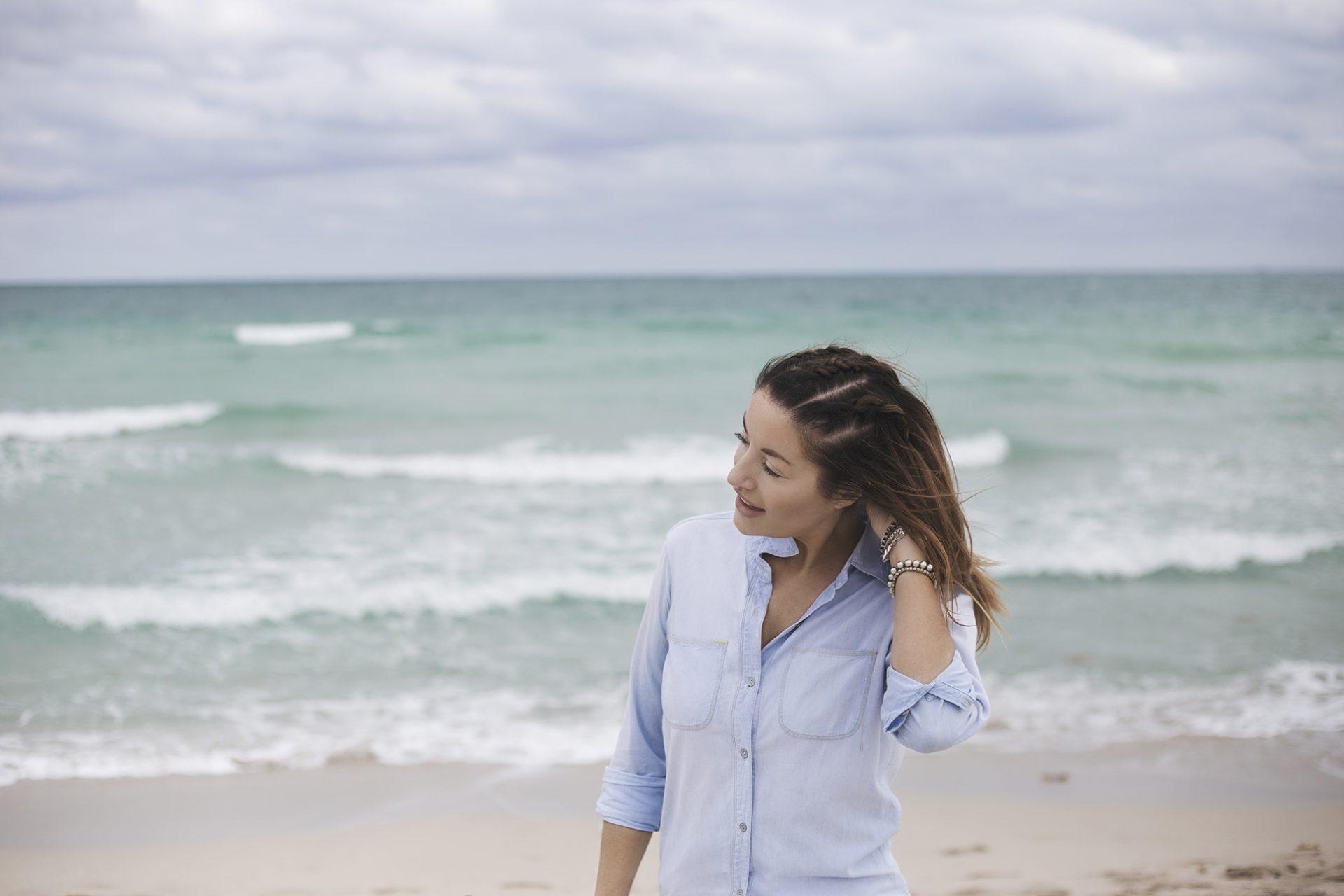 Casual beach braids