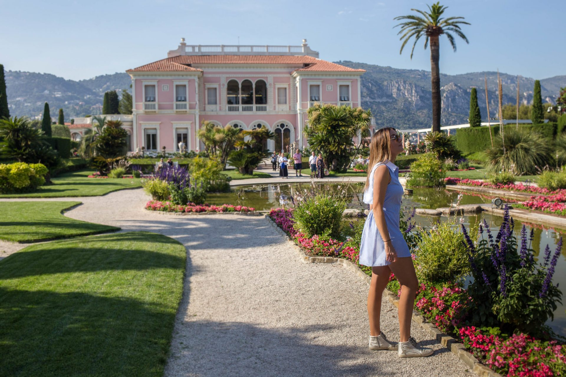 French riviera monaco grand prix saint jean cap ferrat for Jardin villa rothschild