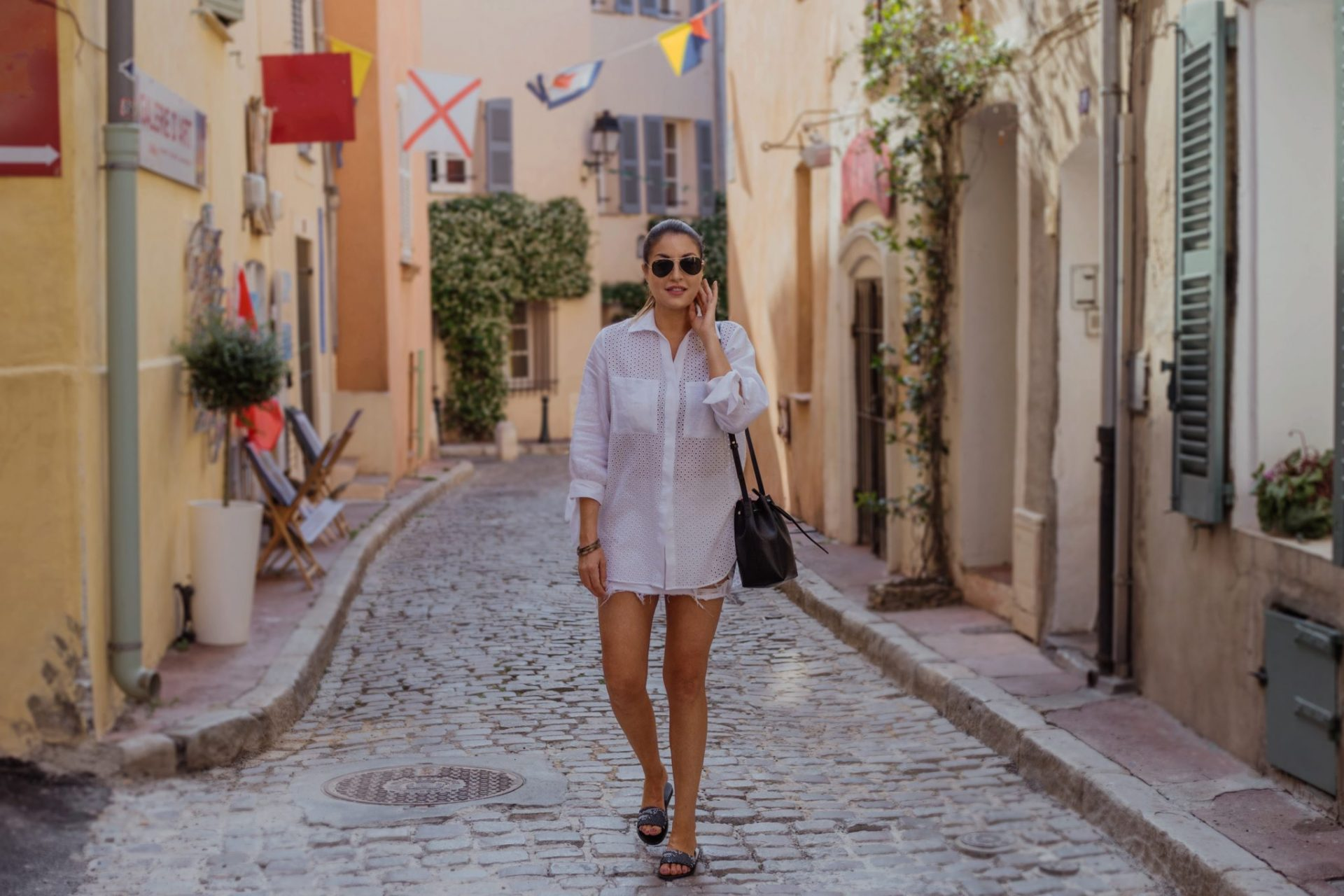 St Tropez summer shopping local boutiques French Riviera