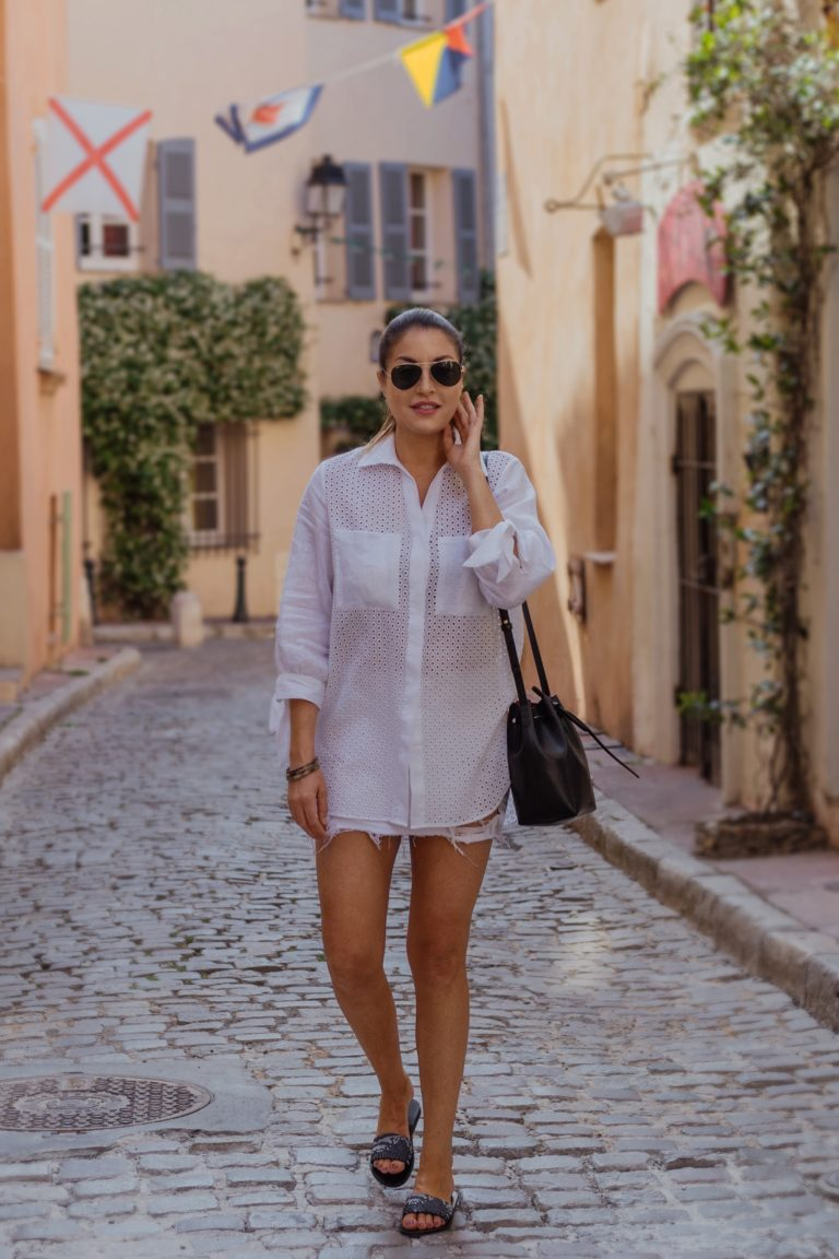 St Tropez summer shopping local boutiques